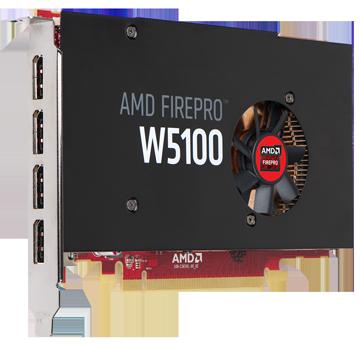 Профессиональная видеокарта AMD FirePro W5100