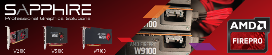 AMD FirePro Sapphire Professional Graphics Solution