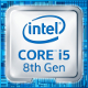 Intel Core i5 8-Generation (Coffee Lake) Logo 2017