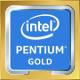 Intel Pentium Gold (Coffee Lake) Logo 2017