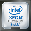 Intel Xeon Scalable Platinum (Skylake) Logo 2017