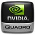 NVIDIA Quadro 3D logo