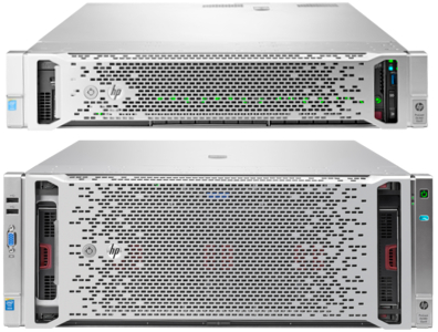 HP ProLiant DL560 Gen9 и DL580 Gen9