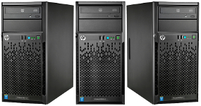 Сервер HP ProLiant ML10 v2 вид