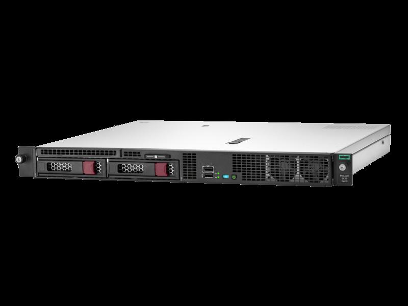 сервер HPE ProLiant DL20 Gen 10 (hero view)