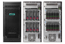 HPE ProLiant ML110 Gen10 - виды корпусов спереди