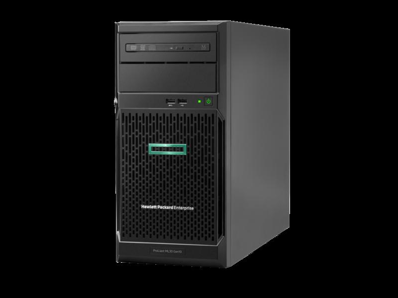 сервер HPE ProLiant ML30 Gen 10 (hero view)