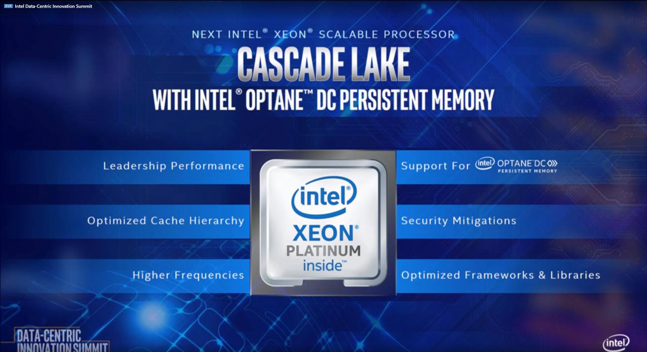 Новые возможности процессоров Intel Xeon Scalable 2-го поколения (Cascade Lake)