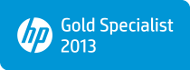 HP PartnerOne Gold Specialist 2013