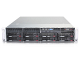 "1-процессорный сервер для монтажа в 19"" стойку STSS Flagman RX126.4-008LH"