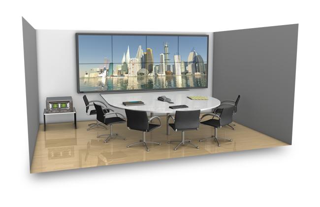 Применение NVIDIA Quadro Plex - комната совещаний