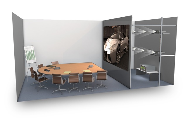 Применение NVIDIA Quadro Plex - конференц-зал