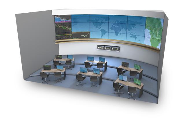 Применение NVIDIA Quadro Plex - операционный центр