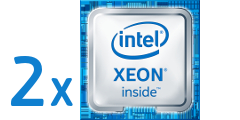 2 x Intel Xeon E5-2600 v4