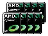 8 процессоров AMD Opteron
